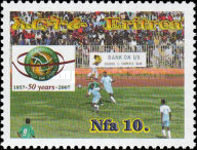 [The 50th Anniversary of African Football Association, Typ JG]