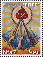 [The 50th Anniversary of Eritrean Armed Struggle, Typ JX]
