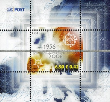 [EUROPA Stamp - The 50th Anniversary of the First EUROPA Stamps, Typ ]