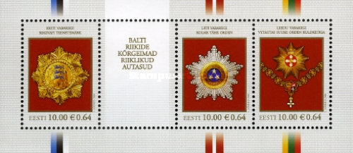 [The Highest State Awards of the Baltic Countries, Typ ]