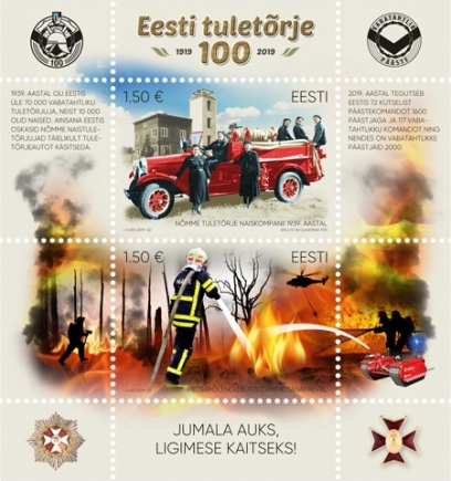 [The 100th Anniversary of Estonian Firefighting, type ]