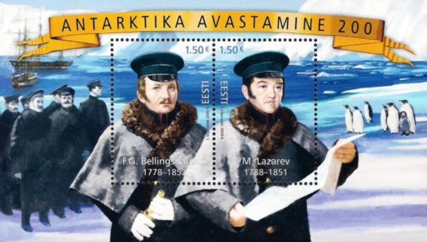 [The 200th Anniversary of the Discovery of Antarctica - Joint Issue with Russia, type ]