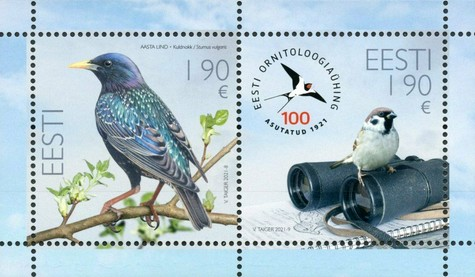 [The 100th Anniversary of the Estonian Ornithological Society, type ]