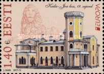 [EUROPA Stamps -  Palaces and Castles, Typ AAJ]