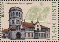[EUROPA Stamps -  Palaces and Castles, Typ AAK]