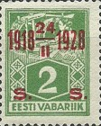 [Stamps of 1922-1925 Surcharged in Red or Black, Typ AB]