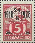 [Stamps of 1922-1925 Surcharged in Red or Black, Typ AB1]