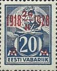 [Stamps of 1922-1925 Surcharged in Red or Black, Typ AB4]