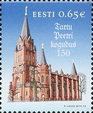[The 150th Anniversary of St. Peter's Congregation in Tartu, Typ BCH]
