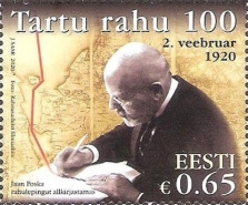 [The 100th Anniversary of the Tartu Peace Treaty, type BCT]