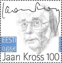 [The 100th Anniversary of the Birth of Jaan Kross, 1920-2007, type BCU]
