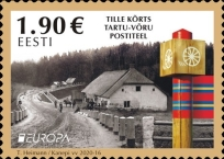 [EUROPA Stamps - Ancient Postal Routes, type BDC]