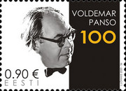 [The 100th Anniversary of the Birth of Voldemar Panso, 1920-1977, Typ BDO]