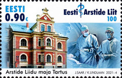 [The 100th Anniversary of the Estonian Medical Association, type BDS]