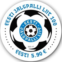 [The 100th Anniversary of the Estonian Football Federation, type BEF]