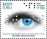 [The 100th Anniversary of the Estonian Federation of the Blind, type BEN]