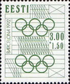 [Olympics Games - Barcelona, Spain, type BX1]