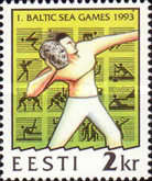 [First Baltic Games, type CJ]