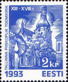 [Christmas Stamps - Churches, Typ CP]