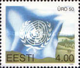 [The 50th Anniversary of the United Nations, Typ DY]