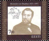 [The 100th Anniversary of the Death of Heinrich von Stephan - Founder of the Universal Postal Union, type FM]