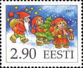 [Christmas Stamp, type FY]