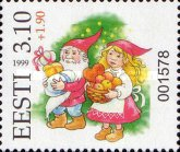 [New Year Lotteri Stamp, Typ HK1]
