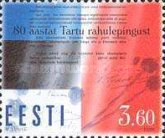 [The 80th Anniversary of the Tartu Peace Treaty, type HO]