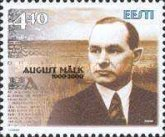 [The 100th Anniversary of the Birth of August Mälk - Writer, type IC]