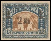 [Charity Stamps Surcharged, Typ N]