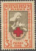 [Red Cross - Perforated, Typ O2]