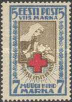 [Red Cross - Perforated, Typ O3]