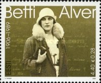 [The 100th Anniversary of the Birth of Poetess Betti Alver, Typ OX]