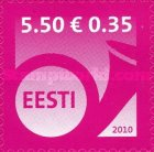 [Post Horn - Self Adhesive Stamp, Typ QE5]