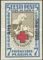 [Red Cross Overprinted