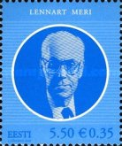 [The 125th Anniversary of the Birth Lennart Meri, Typ RI]