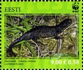 [World Widlife Fund - Great Crested Newt, type SY]