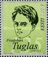 [The 125th Anniversary of the Birth of Friedebert Tuglas, Typ TK]