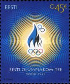 [The 90th Anniversary of the Estonian Olympic Committee, Typ WO]