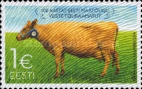 [The 100th Anniversary of the Estonian Native Cattle Stuck Book, Typ XE]