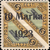 [Pairs of No. 30 Overprinted New Values, type ZAD]