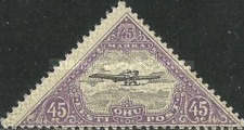 [Airmail - As Previous Perforated, Typ ZAE9]