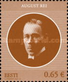 [Heads of State of the Republic of Estonia - August Rei, 1886-1963, Typ ZG]