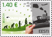 [EUROPA Stamps - Think Green, Typ ZL]