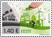 [EUROPA Stamps - Think Green, Typ ZM]