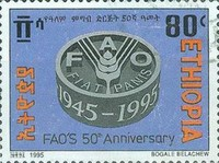 [The 50th Anniversary of F.A.O., Typ AWA1]