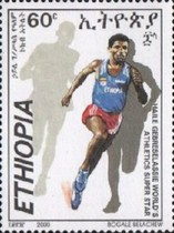 [Haile Gebreselassie (Athlete and Olympic Gold Medal Winner), type AZW]