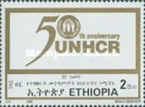[The 50th Anniversary of United Nations High Commissioner for Refugees, Typ BAA3]