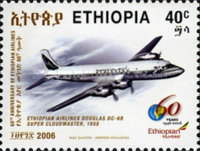 [The 60th Anniversary of Ethiopian Airlines, type BEF]
