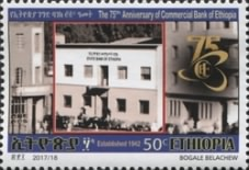 [The  	75th Anniversary of the Commercial Bank of Ethiopia, type BKA]